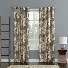 Sun Zero Presley Room-Darkening Grommet-Top Curtain Panel