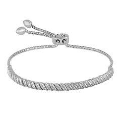Rhythm and Muse 1/10 CT. T.W. Diamond Sterling Silver Bracelet
