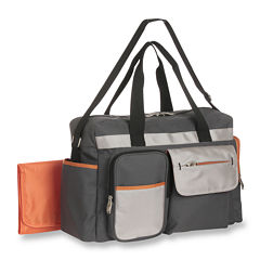 Graco® Duffle Diaper Bag - Tangerine