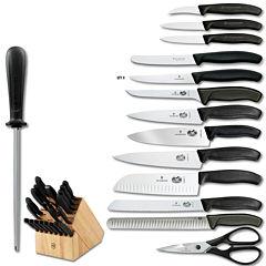 Victorinox® Swiss Army Classic 22-pc. Knife Block Set