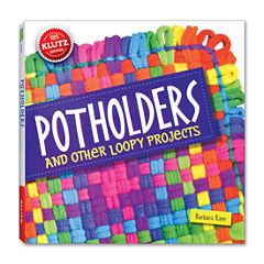 Klutz Potholders and Other Loopy Projects ActivityBook