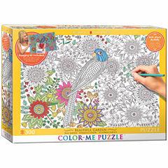 Eurographics Inc Color-Me Puzzle - Beautiful Garden: 300 Pcs
