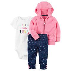 Carter's 3-pc. Layette Set-Baby Girls