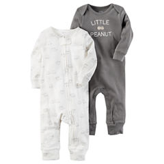 Carter's Boy 2-pk. Long Sleeve Jumpsuits - Baby