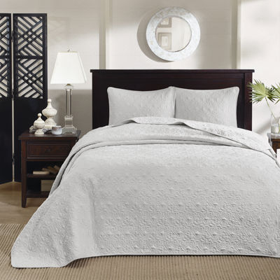 madison park mansfield 3pc bedspread set