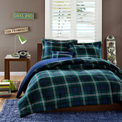 Mi Zone Cameron Plaid Comforter Set