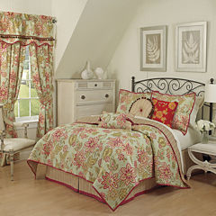 Waverly® Charismatic Honeysuckle Reversible Quilt Set & Accessories