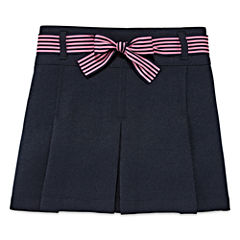 IZOD® Ribbon-Belted Scooter Skirt - Preschool Girls 4-6x
