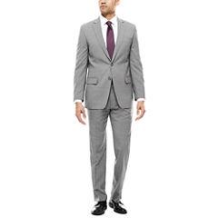 Claiborne Plaid Suit Separates-Classic Fit