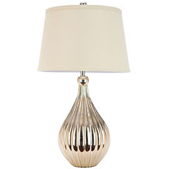 Janice Champagne Gourd Lamp
