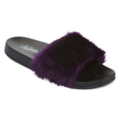 City Streets Tammy Womens Slide Sandals