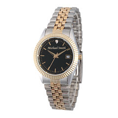 Mens Two Tone Bracelet Watch-Pw00176