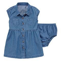 Arizona Short SleeveShirt Dress - Baby Girls