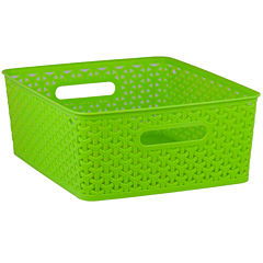 Home Basics Brights Open Storage Basket