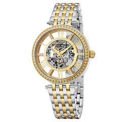 Stuhrling Womens Two Tone Bracelet Watch-Sp16316