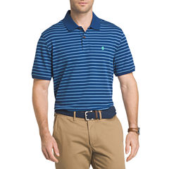 IZOD Advantage Stripe Short Sleeve Polo Shirt