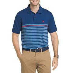 IZOD Advantage Engineered Stripe Short Sleeve Polo Shirt