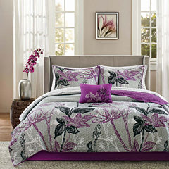 Madison Park Nicolette Coverlet Complete Bedding Set with Sheets