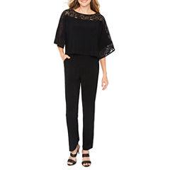 Ronni Nicole 3/4 Sleeve Jumpsuit