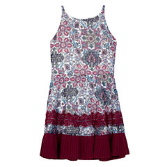 Byer California Sleeveless Skater Dress - Big Kid Girls