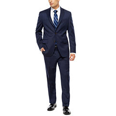 Stafford Super 100's Navy Pinstripe Suit Separates- Classic Fit
