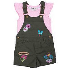 Little Lass Shortall Set Baby Girls