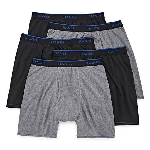 Hanes® 4-pk. ComfortBlend® Boxer Briefs   Bonus Pair