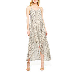 a.n.a Sleeveless Geometric Maxi Dress