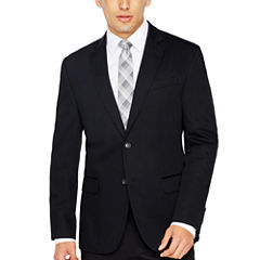 JF True Black Cotton Sport Coat Slim