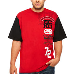 Ecko Unltd Short Sleeve Crew Neck T-Shirt-Big and Tall