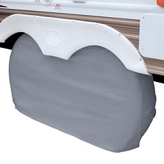 Classic Accessories 80-108-041001-00 RV Dual Axle Wheel Cover, Large