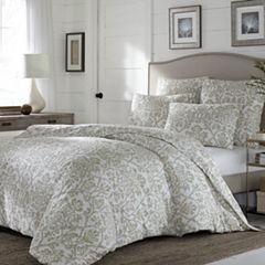 Stone Cottage Odelia 3-pc. Damask + Scroll Reversible Comforter Set
