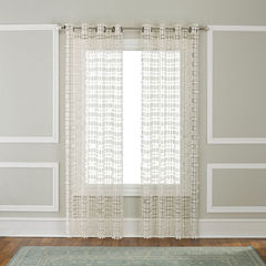 Renaissance Home Fashion Amelia Grommet-Top Curtain Panel