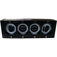 Race Sport Inc. RS9HALO HALO-DRL Series LED LightBar (8IN; 40 Watts; 2;400 Lumens)