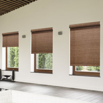 deluxe woven cordless roller shade