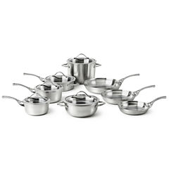 Calphalon® Contemporary Stainless Steel 13-pc. Cookware Set