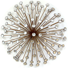 Stratton Home Décor Bronze Acrylic Burst