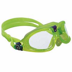 Us Driver Seal Kid 2 Blu Goggls Clr Lens Swim Goggles