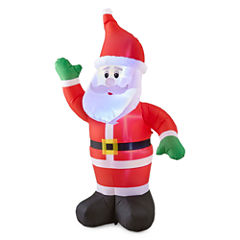 North Pole Trading Co. 6ft Santa Outdoor Inflatable