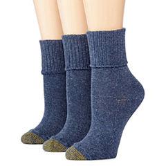 GoldToe® 3-pk. Bermuda Casual Socks