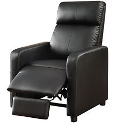 Thomas Home Theater Faux-Leather Recliner