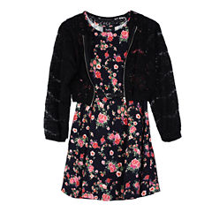 Byer California 2-pc. Jacket Dress Big Kid Girls