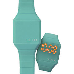Dakota Fusion Kids Mini Hidden LED Watch, Teal 52508