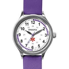 Dakota Women's Fun Color Nurse Watch, Purple