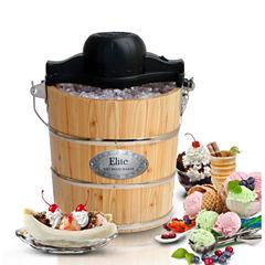 Elite Gourmet EIM-502 4-Quart Old-Fashioned Ice Cream Maker