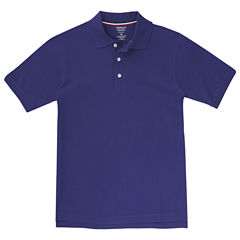 French Toast Short Sleeve Pique Polo - Boys Big Kid