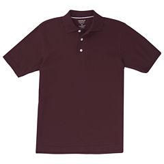 Short Sleeve Pique Polo Husky