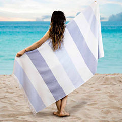 Pacific Coast Textiles Fouta Yarn Dyed Beach Towel