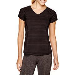 Xersion™ Short-Sleeve Textured T-Shirt