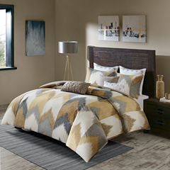 INK+IVY Alpine Chevron 3-pc. Duvet Cover Set
